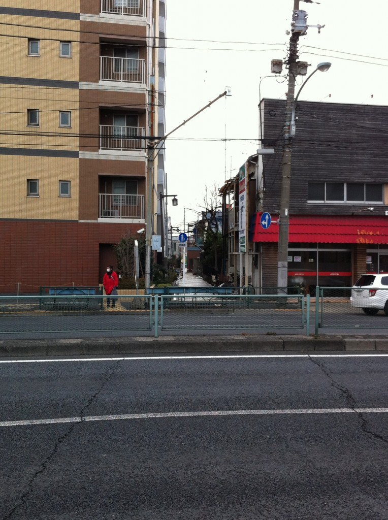 環七亀有5丁目バス停付近
