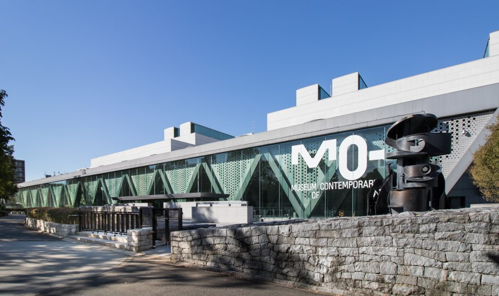 東京都現代美術館南側前景